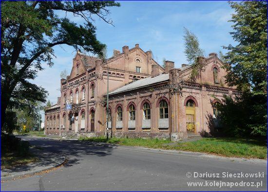 Będzin - zabytkowy dworzec kolejowy