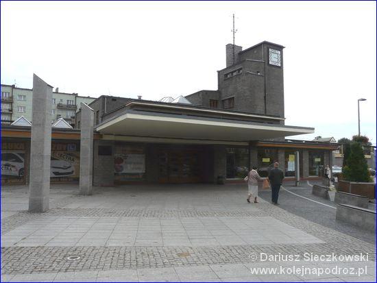 Będzin Miasto - dworzec z zewnątrz