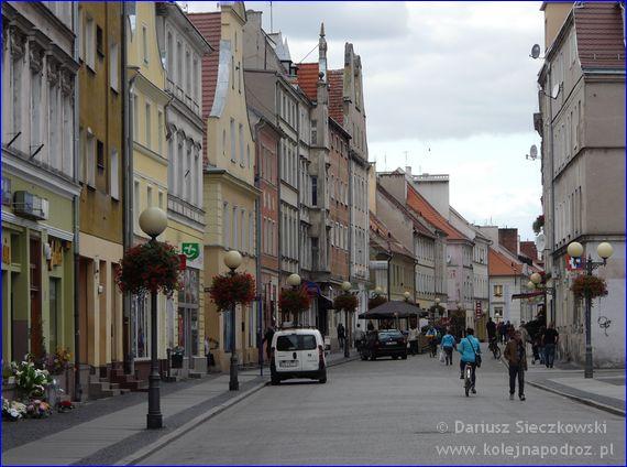 ulica Długa w Brzegu