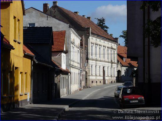 ulica Okrężna w Byczynie