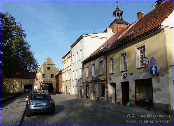 ulica Zamkowa w Głogówku