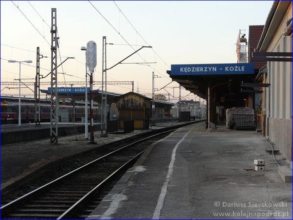 Kędzierzyn-Koźle - peron 1