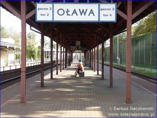 Oława - peron 2