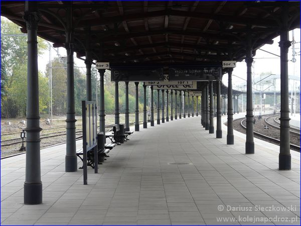 Opole Główne - peron 1