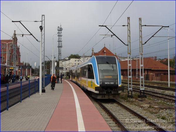Opole Główne - peron 5