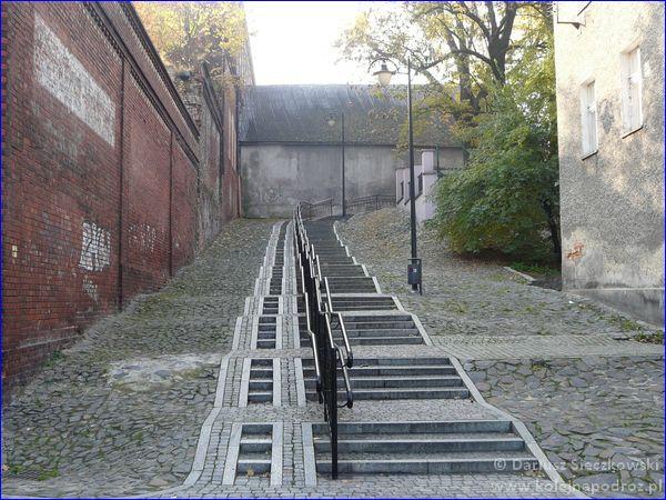 schody do centrum