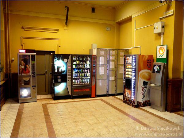 Automaty na dworcu