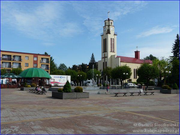 Czechowice-Dziedzice - plac Jana Pawła II