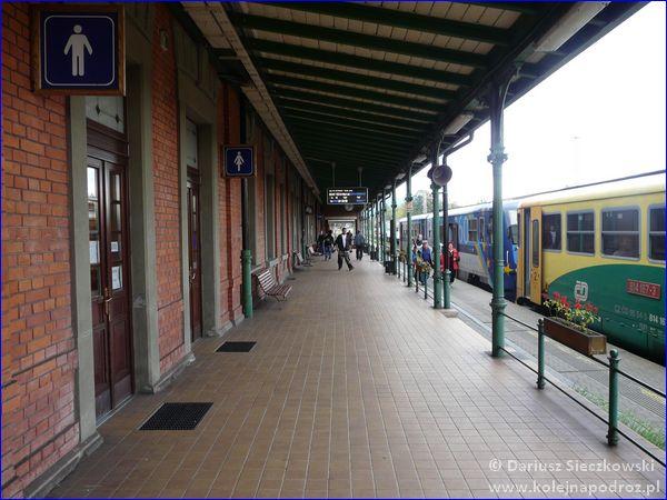 Frydek-Mistek - dworzec kolejowy - peron 1