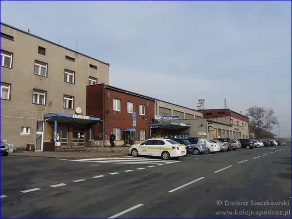Hranice na Moravě - dworzec kolejowy