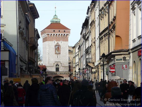 Kraków - ulica Floriańska