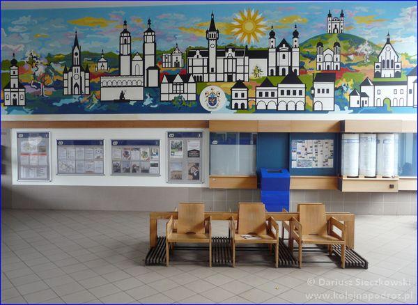 Dworzec kolejowy Krnov - hol