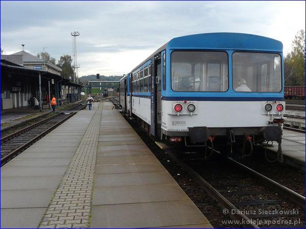 Dworzec kolejowy Krnov - peron 2
