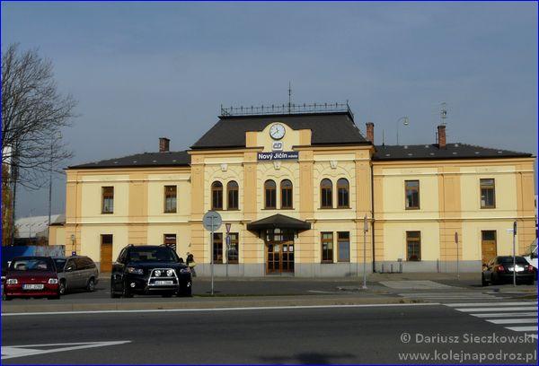 Nový Jičín město - dworzec kolejowy