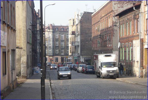 Zabrze - ulica Sienkiewicza