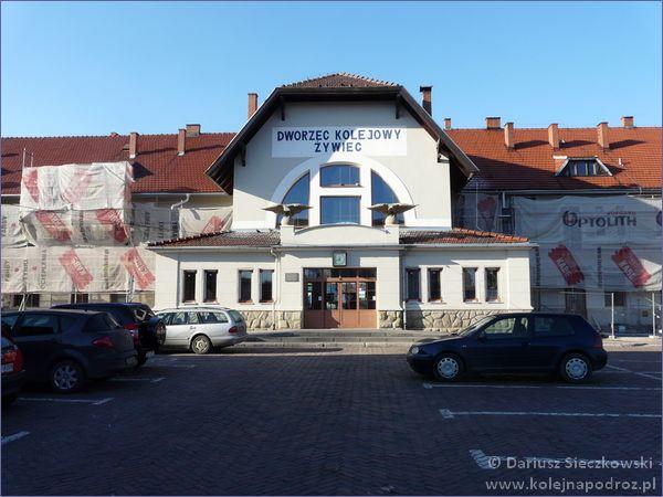 Żywiec - dworzec kolejowy