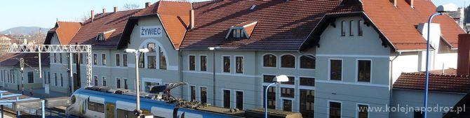 Dworzec kolejowy w Żywcu – informacje