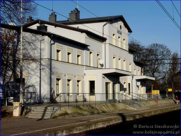 Kościan - dworzec kolejowy