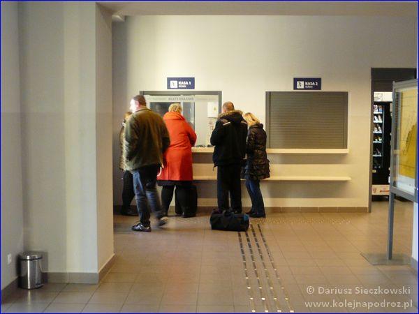 Kościan - dworzec kolejowy - kasa