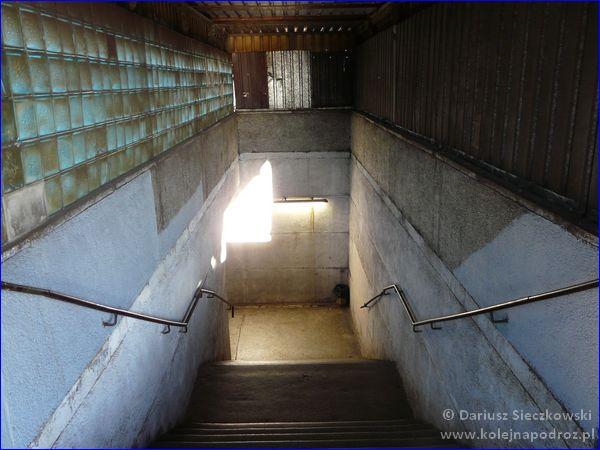 Kościan - dworzec kolejowy - przejście na perony