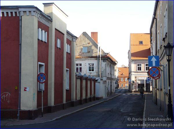 Leszno - ulica Szkolna
