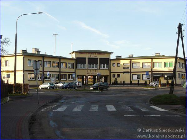 Hotel Sportowy w Rawiczu - budynek