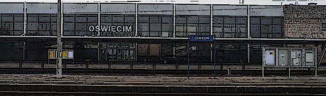 Oświęcim – dworzec przed wyburzeniem