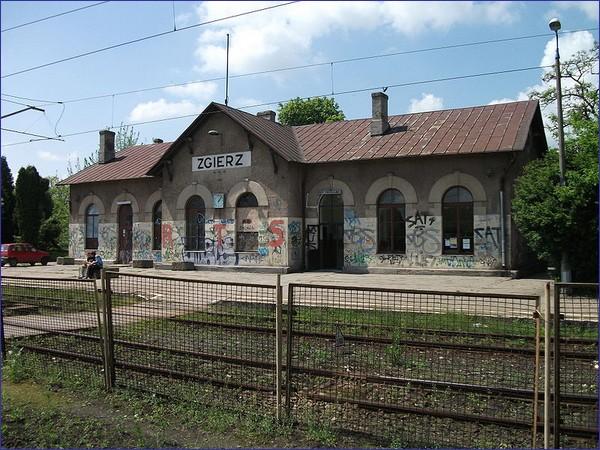 Zgierz - dworzec przed remontem