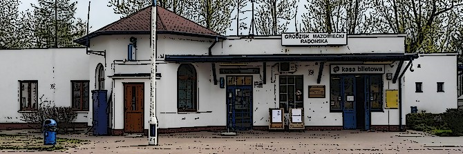Grodzisk Mazowiecki Radońska – stacja WKD