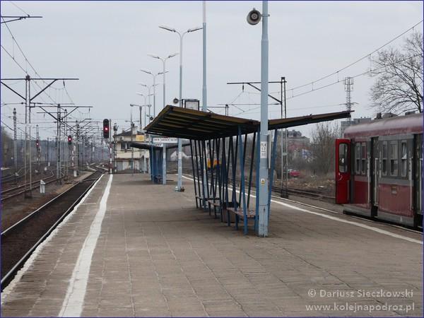 Łowicz Główny - peron 2