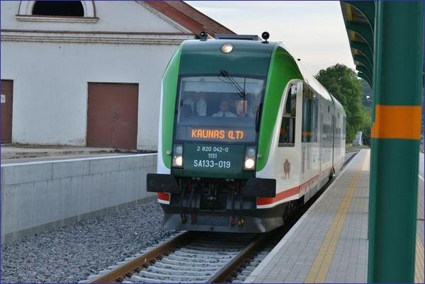 Pociąg Białystok - Kowno