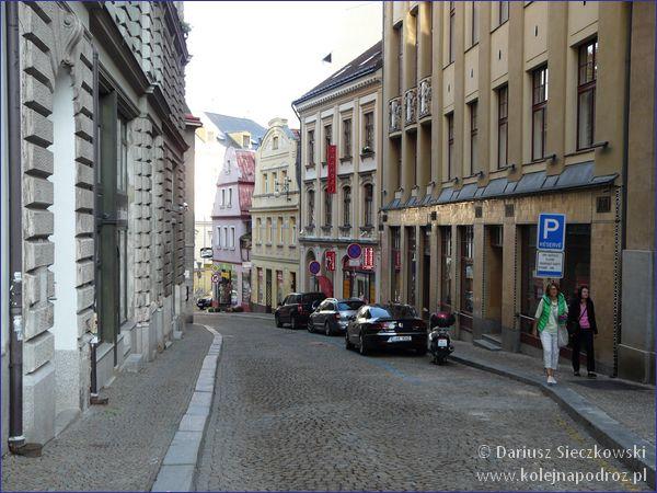 Liberec - ulica Frydlancka