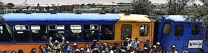 Chile – nowy pociąg Arica – Poconchile