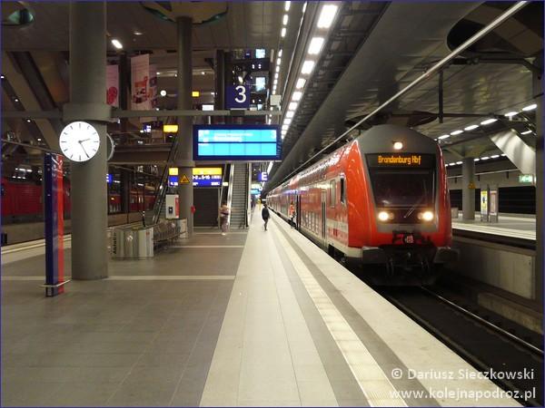 Deutsche Bahn - pociąg Berlin Brandenburg