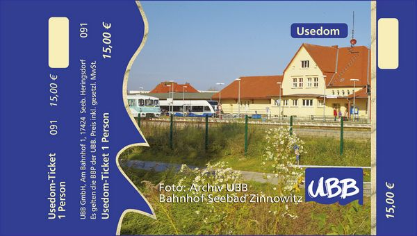 Usedom Ticket
