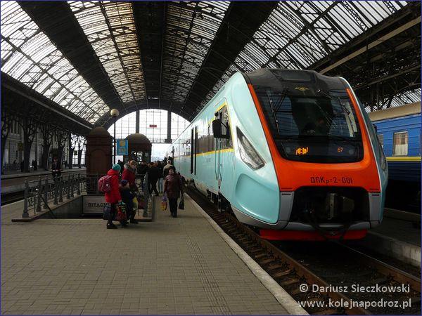 Koleje ukraińskie - regionalny ekspres