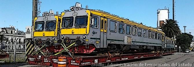 """Urugwaj – """"nowe"""" pociągi dla AFE"""