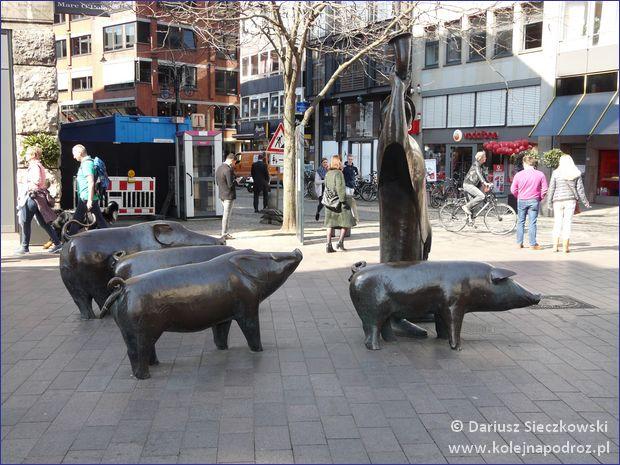 Brema - pomnik świniopasa