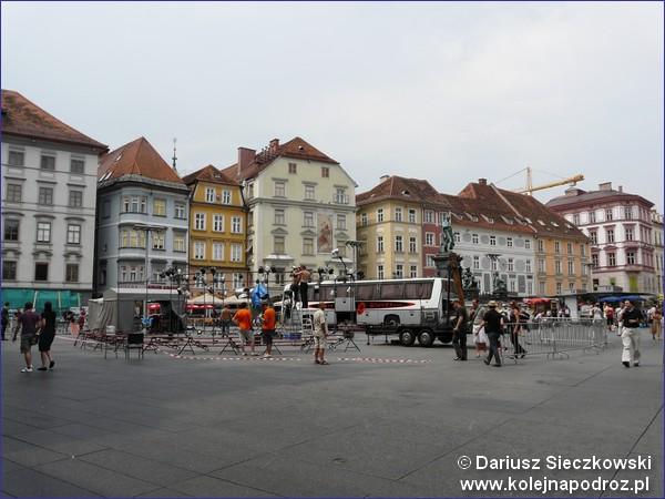 Główny plac miasta