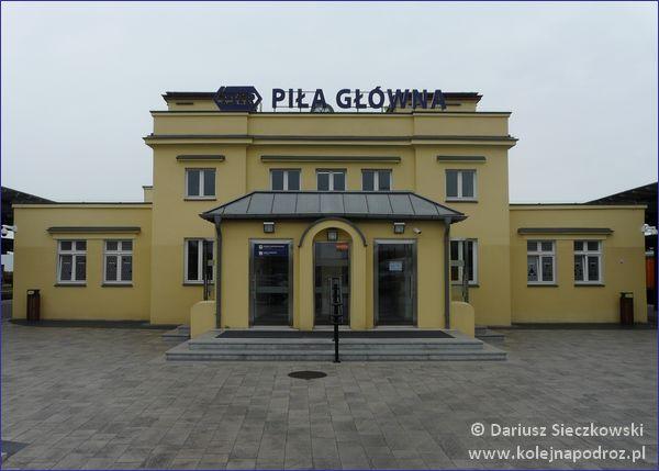 Dworzec w Pile