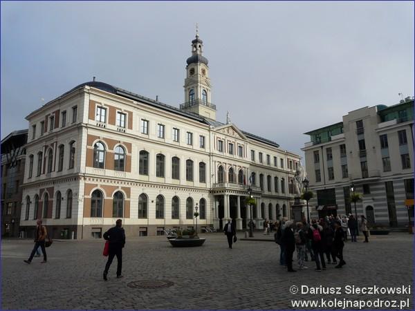 Plac Ratuszowy w Rydze