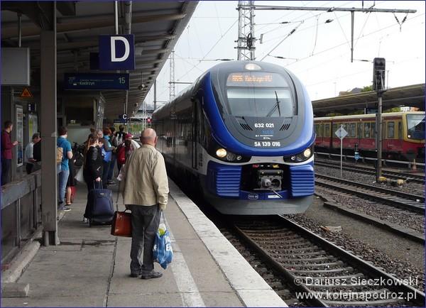 Pociąg Berlin - Kostrzyn