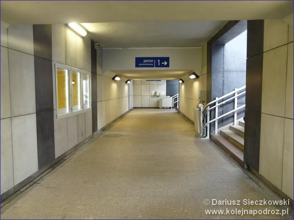 Dworzec w Lublińcu