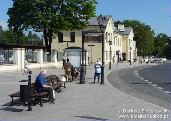 Piotrków Trybunalski - dworzec