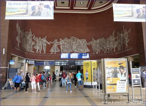 Dworzec kolejowy w Ołomuńcu