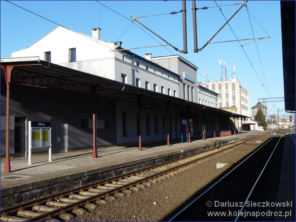Elbląg - dworzec kolejowy
