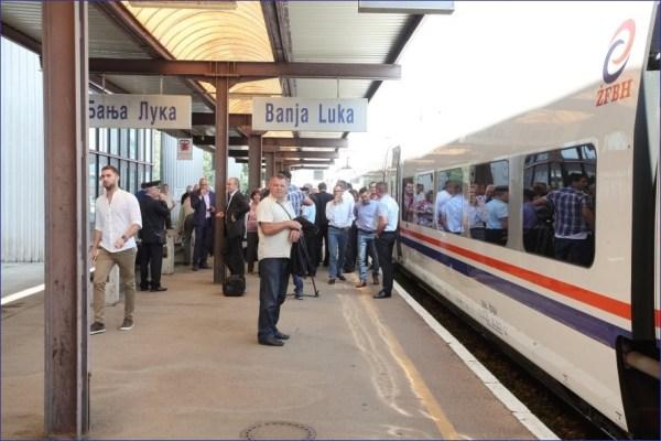 Pociąg Sarajewo - Bihać