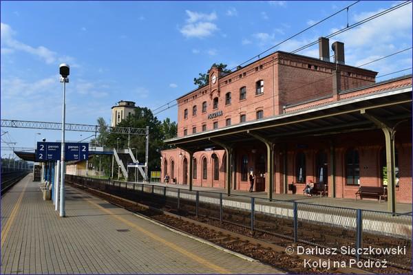 Widok na dworzec