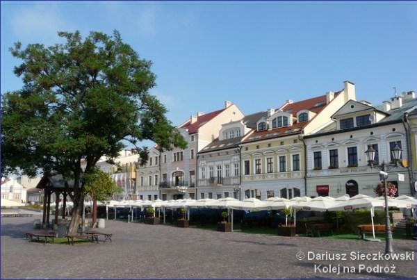 Rynek w Rzeszowie.