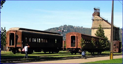 Muzeum Kolejnictwa w Temuco (autor: Alex Juorio, licencja Creative Commons BY źródło: flickr.com)